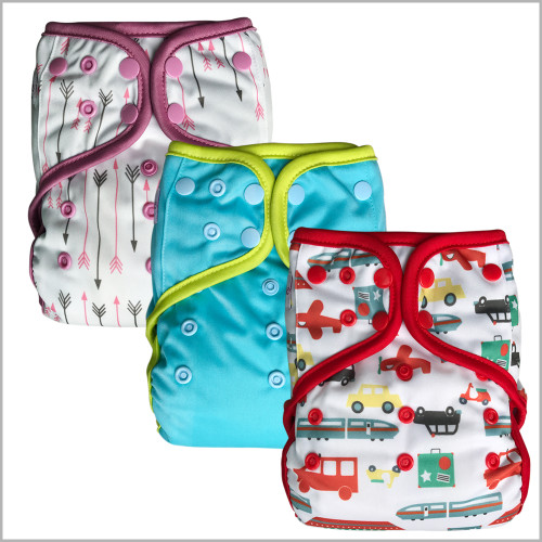Ecoable - Day & Night All-in-One Cloth Diaper, One Size