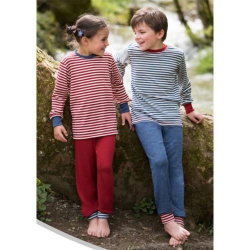 Engel - Kids Thermal Pajama Lounge Pants, 100% Organic Wool, 2-8 Years