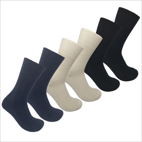 Hirsch Natur - Organic Wool Cotton Blend Dress Socks, Sizes 6-11.5 for Men and Women