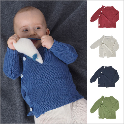 Reiff - Baby and Toddler Cotton Cardigan, Sizes Newborn – 3T