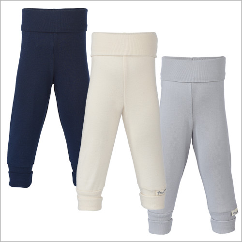 Engel - Baby and Toddler Joggers Pants for Boys or Girls, 100% Organic Cotton