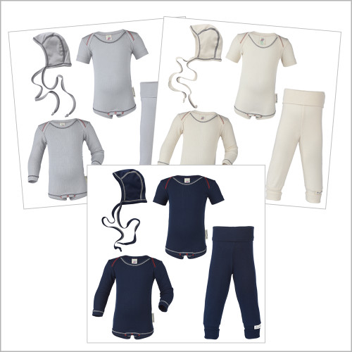 ENGEL - Gender Neutral Baby Clothes – Organic Cotton Newborn Necessities Layette Set Unisex