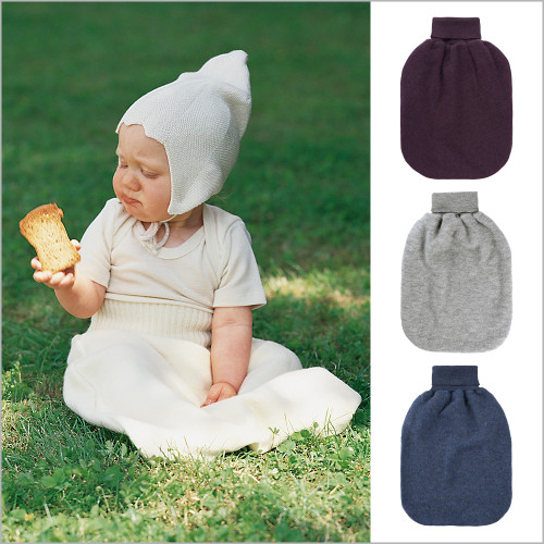 ENGEL - Newborn Baby Wearable Blanket Sleeping Bag, 100% Organic Merino Wool Fleece, 0-6 Months