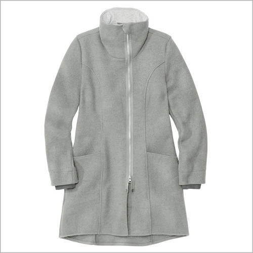 DISANA Women's Boiled Merino Wool Coat