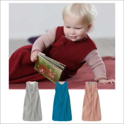 DISANA - Baby Merino Wool Wearable Thermal Blanket, Sizes 0-36 Months