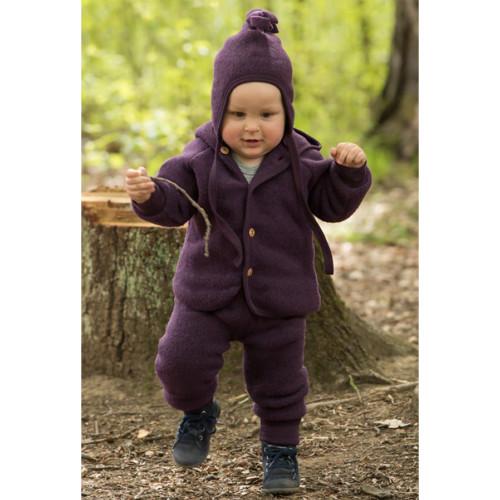 ENGEL - Baby Wool Fleece Pants: Organic Merino Wool Clothes for Boys and Girls, Newborn - 1 Years