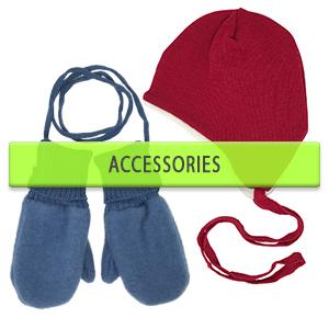 Kids Merino Wool Mittens and Hats