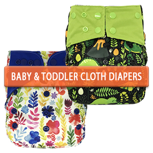 Baby and Toddler Cloth Diapers