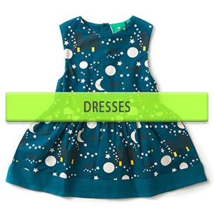 Baby Girl's Organic Cotton Dress