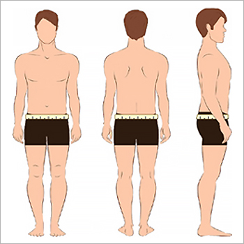 EcoAble Adult Cloth Diaper Hip Measurements