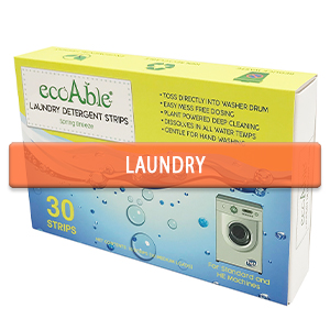 Ecoable Laundry Detergent Strips