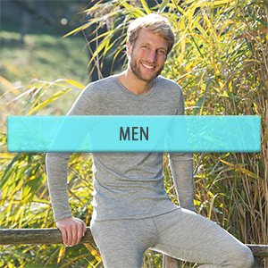 Wool and Silk Thermal Clothes for Men