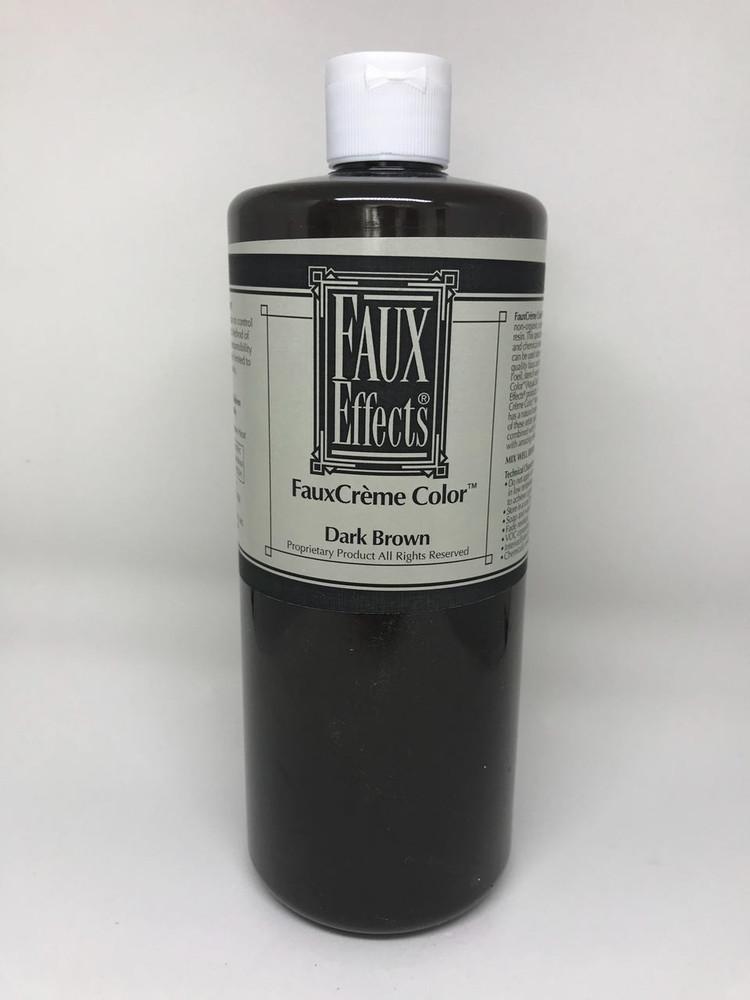 FauxCrème Color Dark Brown Quart