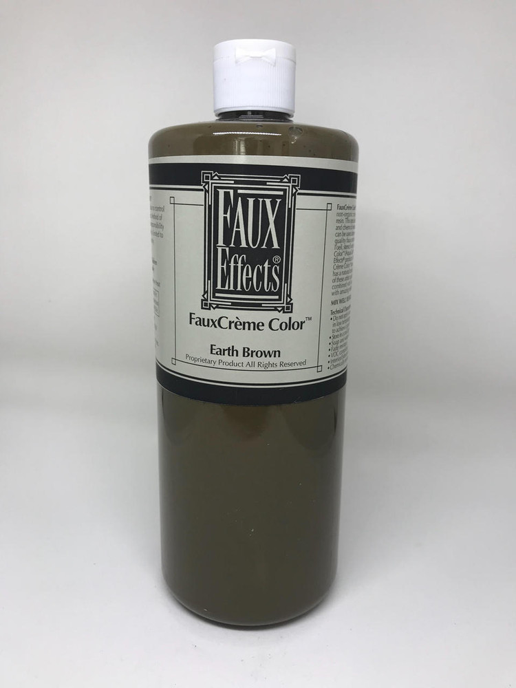FauxCrème Color Earth Brown Quart