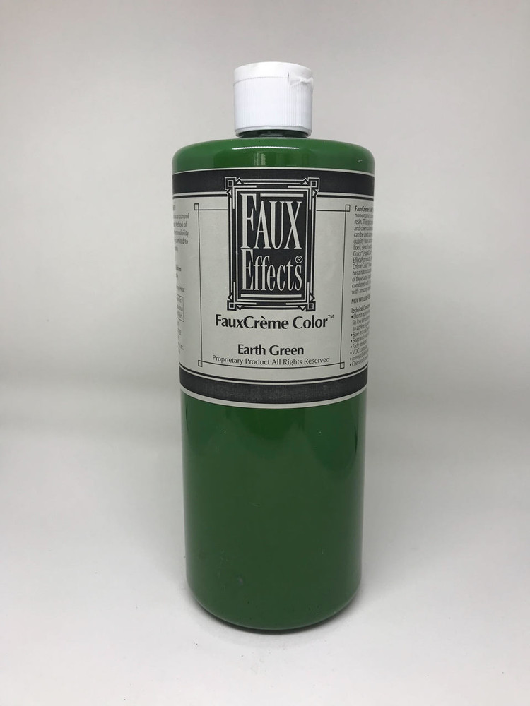 FauxCrème Color Earth Green Quart