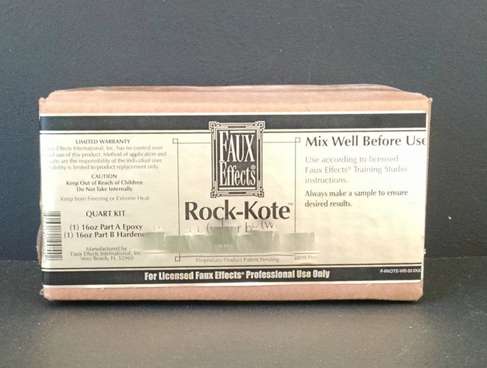 Rock Kote Creme Water Base kit