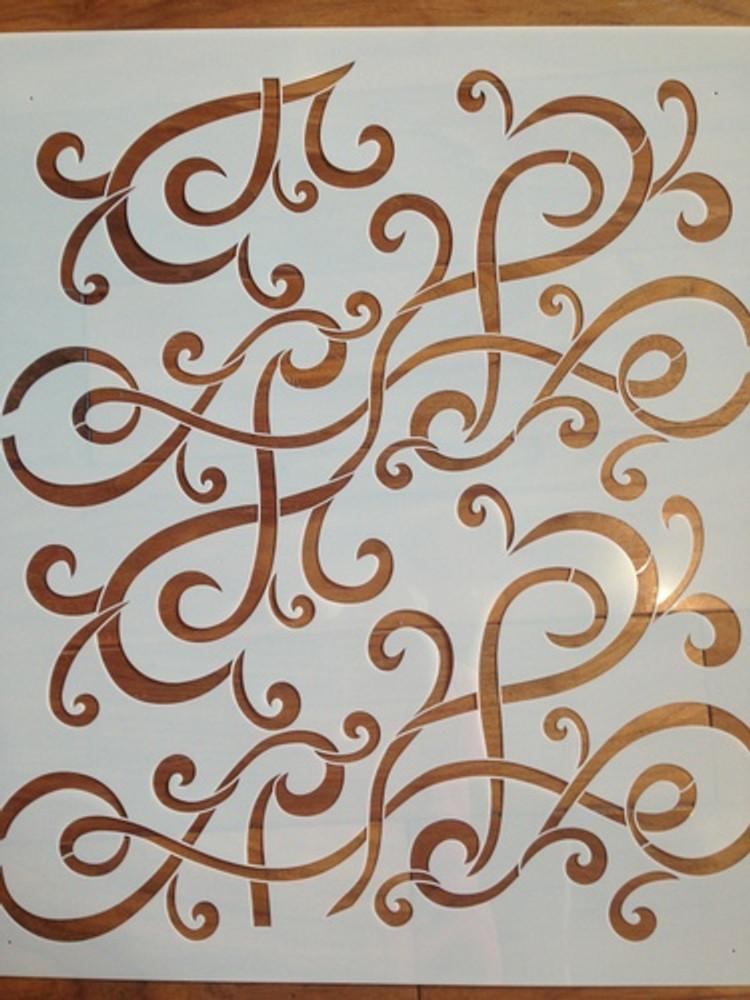 Twirled Silk