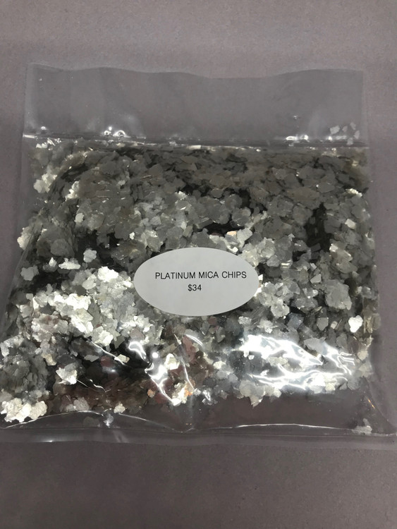 Platinum Mica Chips (was called flakes)