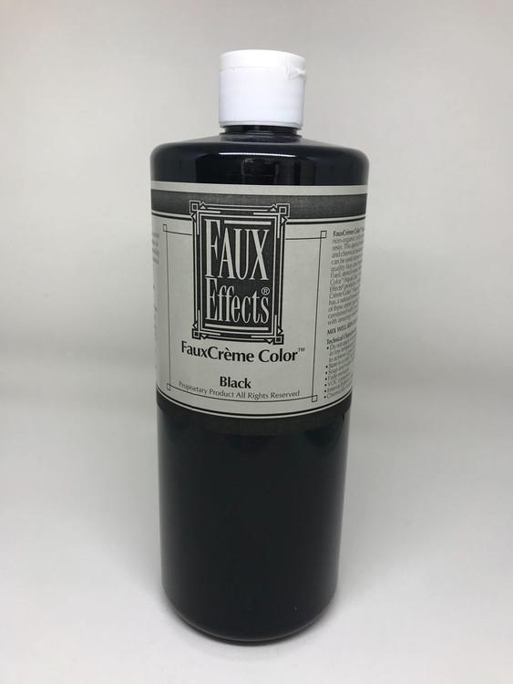 FauxCrème Color Black Quart