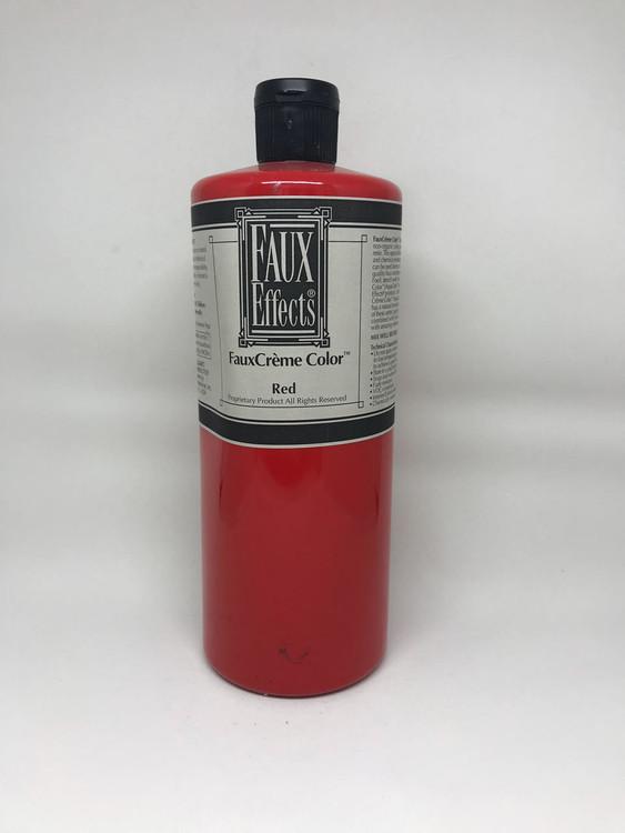 FauxCrème Color Red Quart