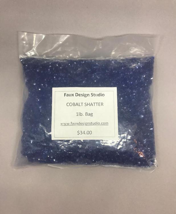 Shatter - Cobalt Blue