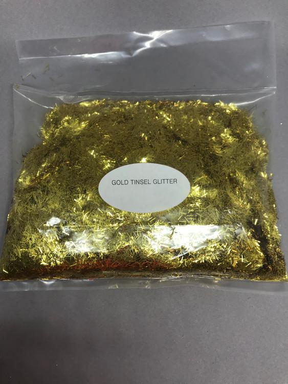 Gold Tinsel Glitter