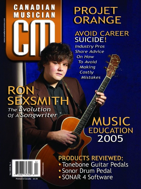 Canadian Musician - January/February 2005