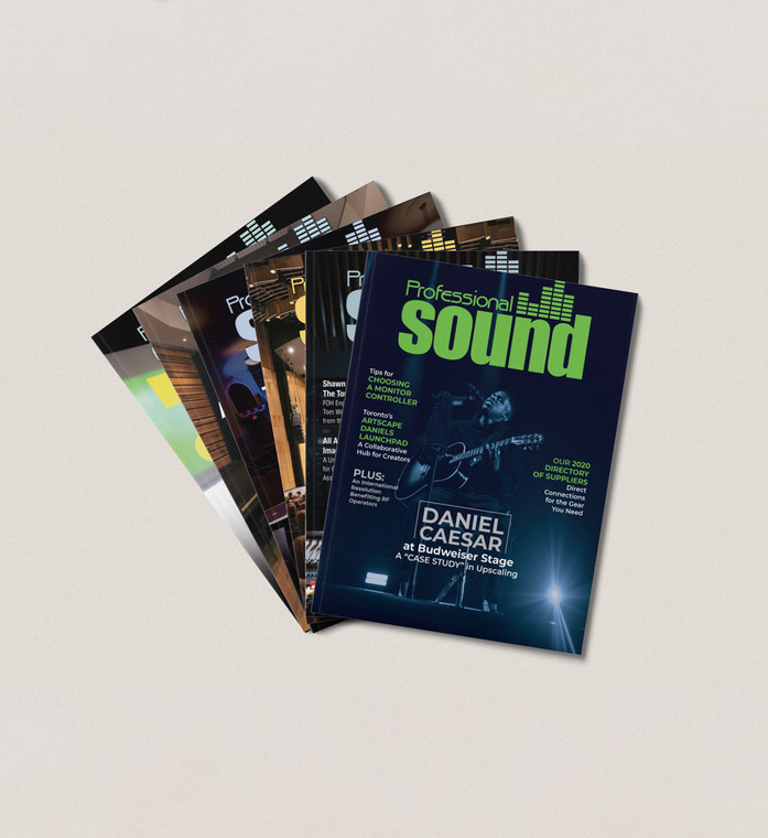 Professional Sound - 1 Year Subscription