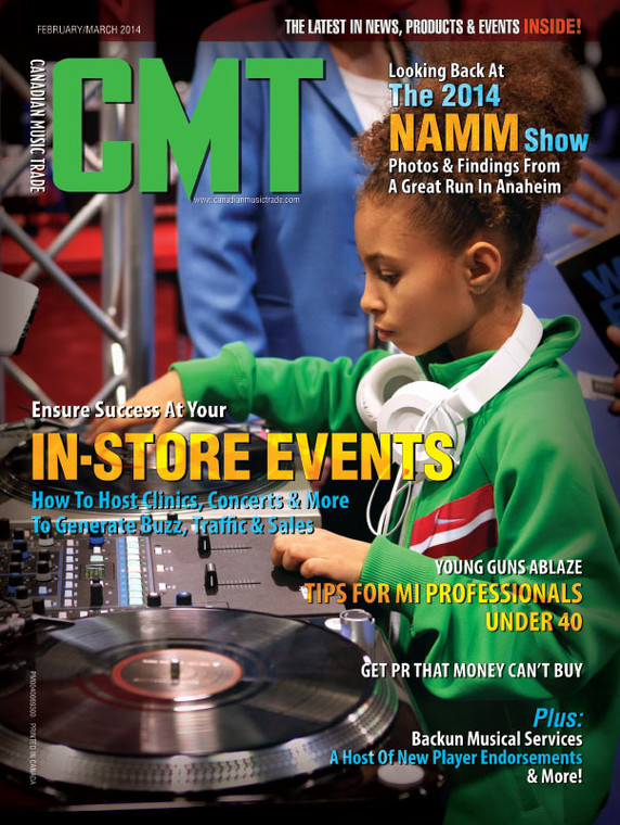 Canadian Music Trade - February/March 2014