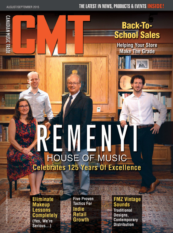 Canadian Music Trade -  August/September 2015