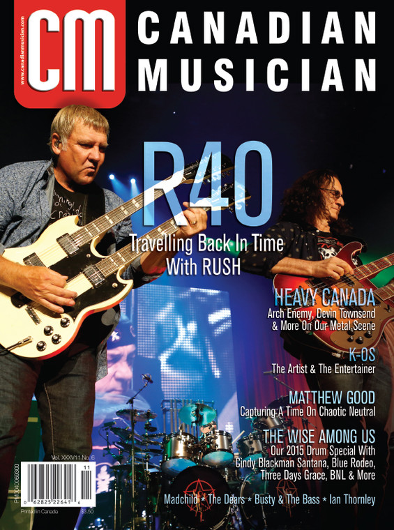 Canadian Musician - November/December 2015