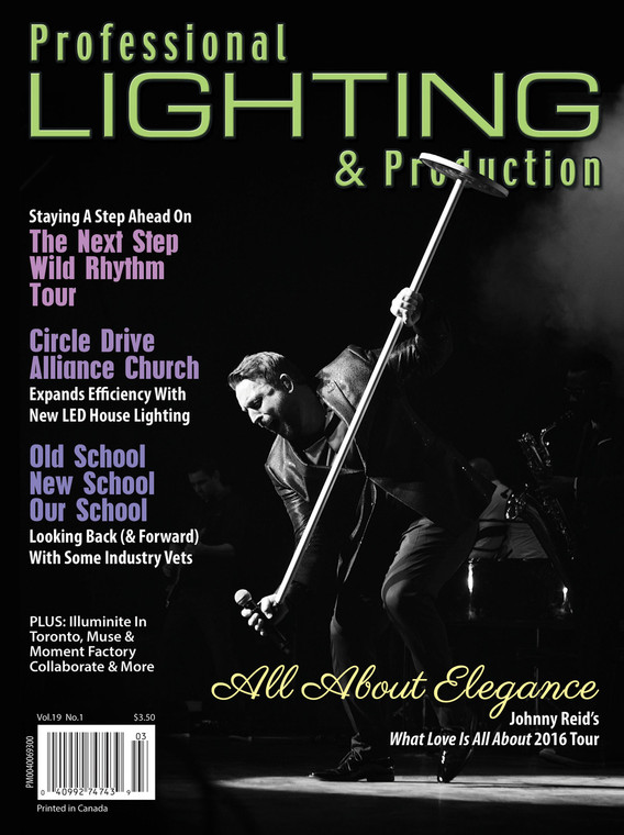 Professional Lighting & Production Spring 2016