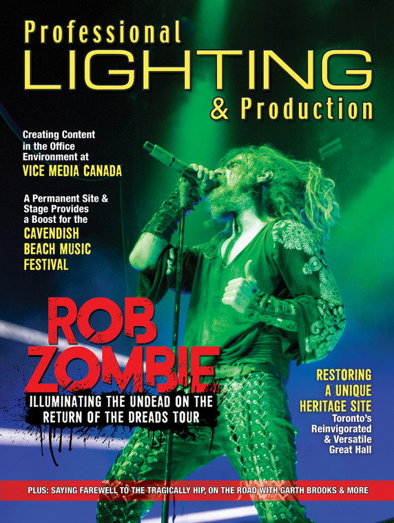 Professional Lighting & Production - Fall 2016