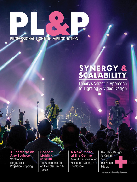 Professional Lighting & Production - Spring 2018