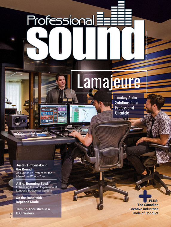 Professional Sound - August 2018