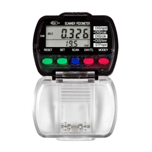 Digi 1st P-036 Dual Display Multi-function Pedometer with Activity Tracker