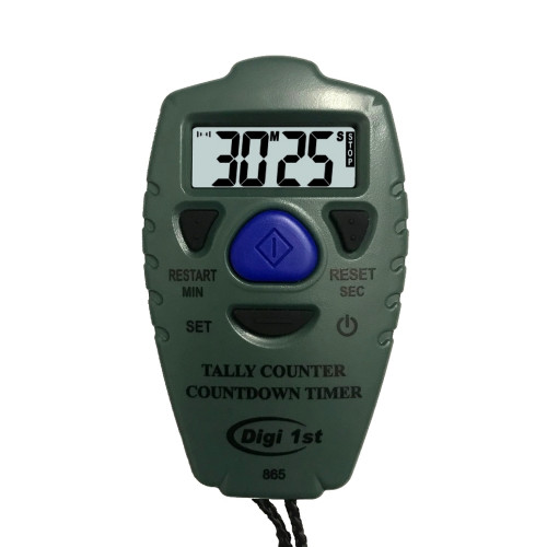 Digi 1st TC-865 Digital Tally Counter with Countdown Timer