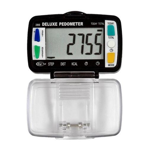 Digi 1st P-280 Step, Distance, Activity Time, Calorie, Clock Pedometer.