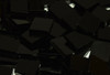 Spectrum Black Opal Smooth Stained Glass Mosaic Tiles