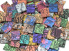 """1"""" x 1"""" Van Gogh Glass Mix Stained Glass Mosaic Tiles (25 tiles)"""