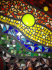 Yellow Mix Stained Glass Mosaic Tiles
