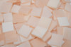 "1/2"" x 1/2"" Champagne Swirl Stained Glass Mosaic Tiles (100 tiles)"
