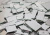 SILVER MIRROR JUMBLED MIX - ONE POUND mosaic tiles