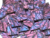 Blue & Purple Van Gogh Stained Glass Mosaic Tiles