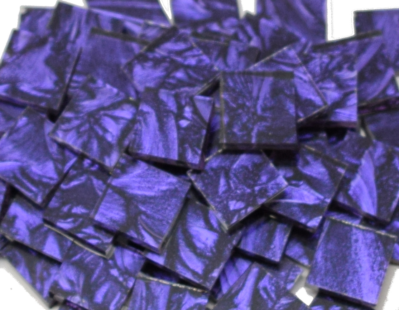 Bulk Discount - Violet Van Gogh Stained Glass Mosaic Tiles