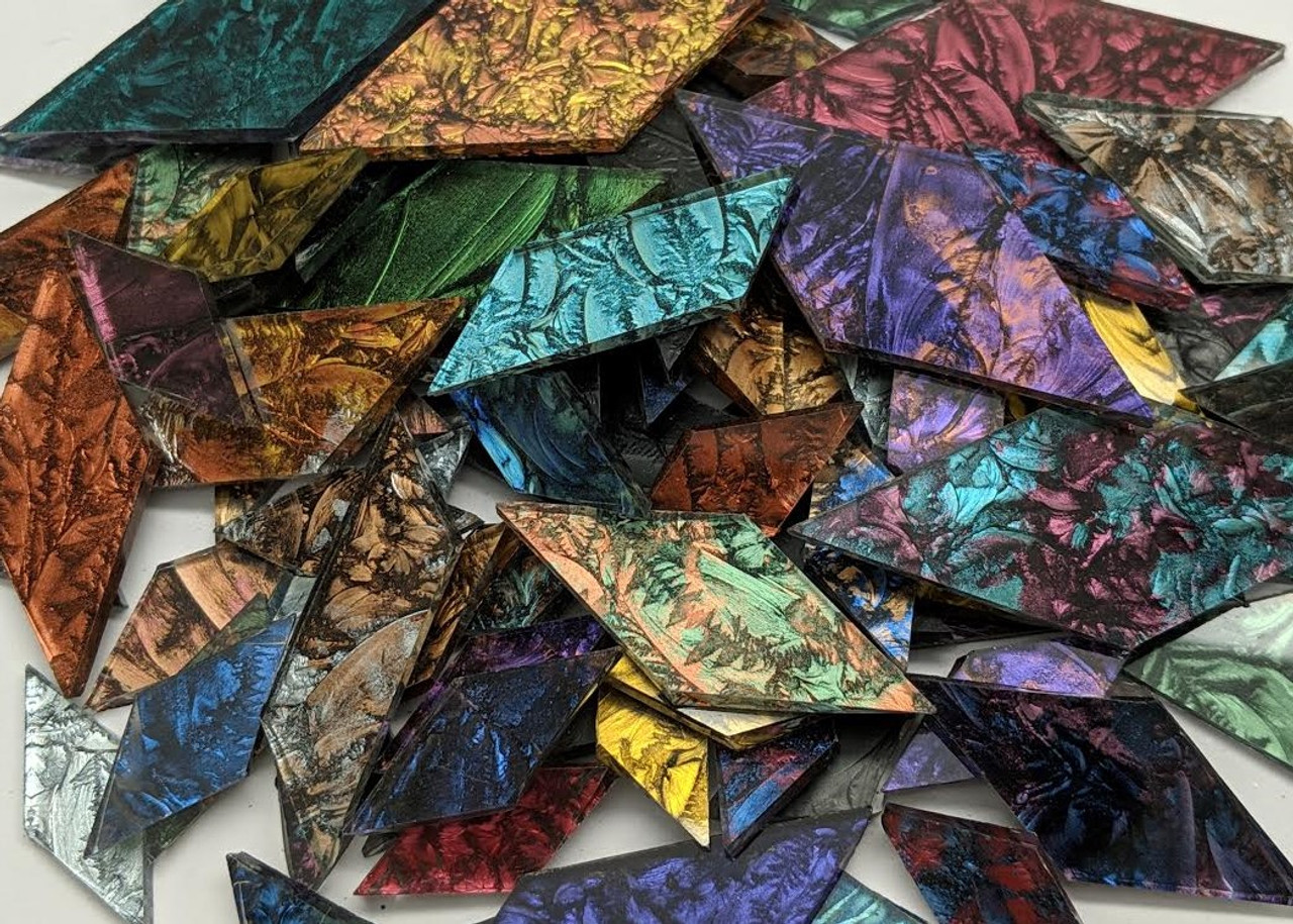 Van Gogh Trapezoid Mix - 1/2 lb Assorted Colors and Sizes