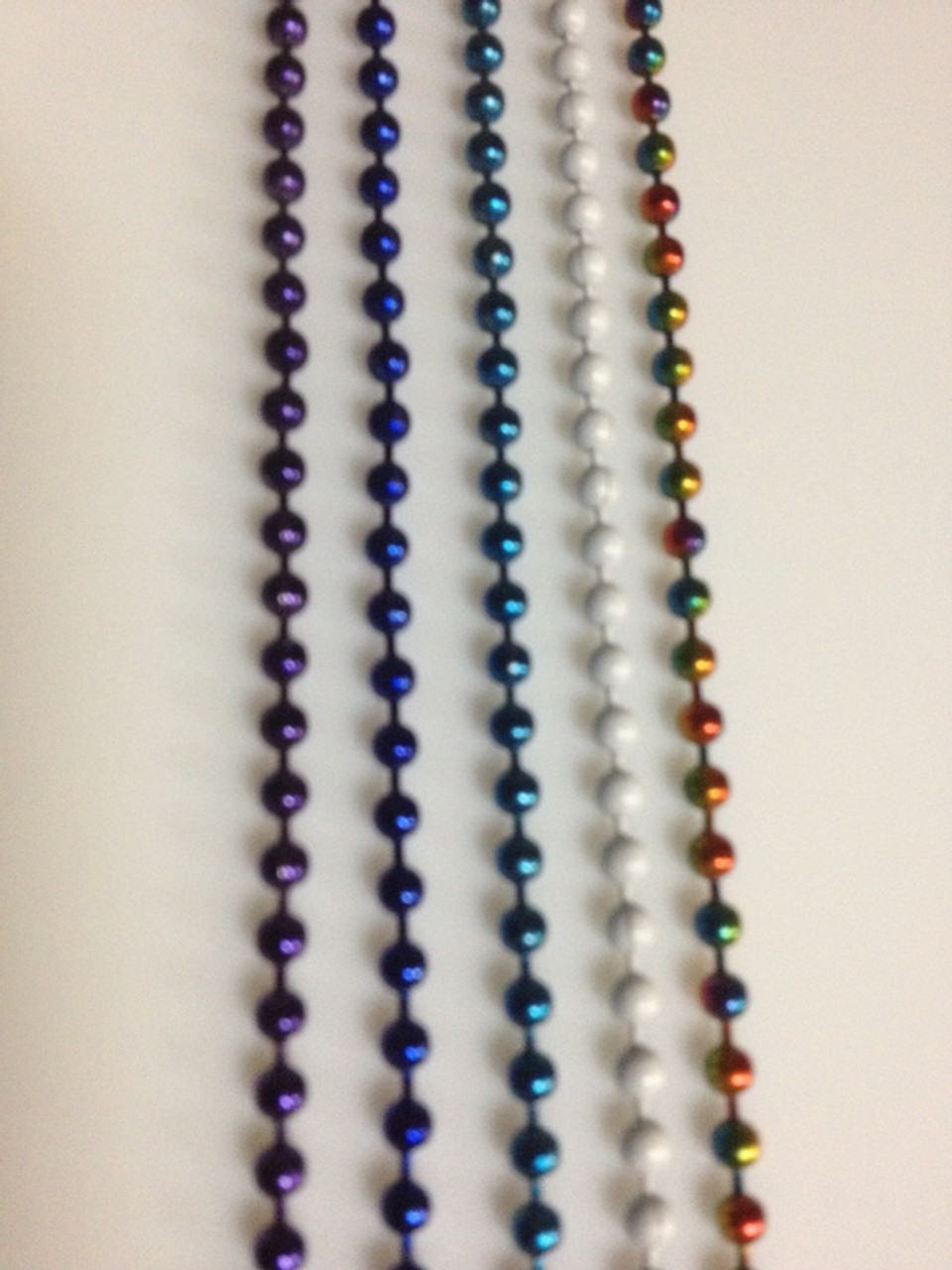 #6 Blue Ball Chain, 10 feet