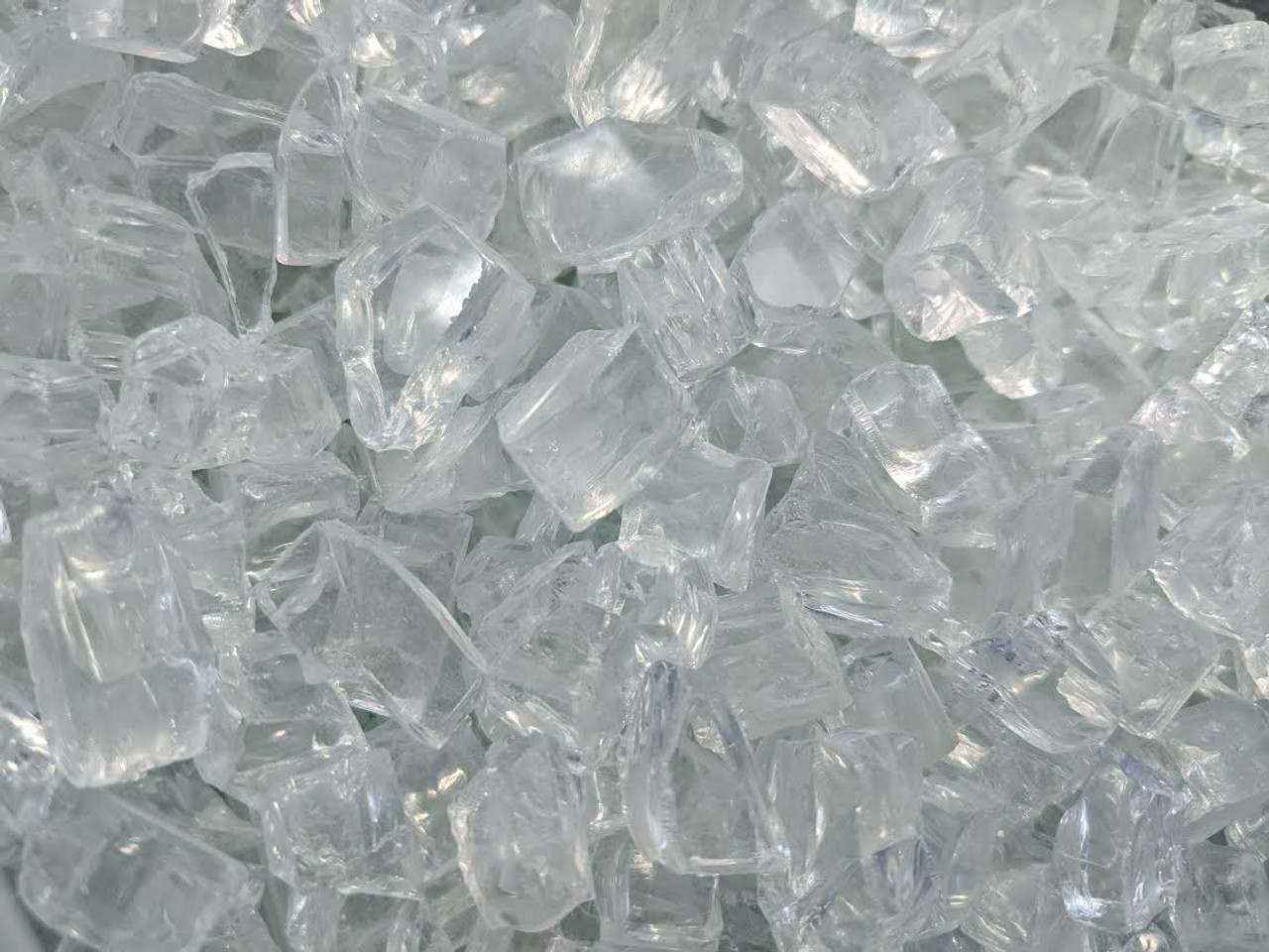 Clear Tempered Glass - 1/2 lb