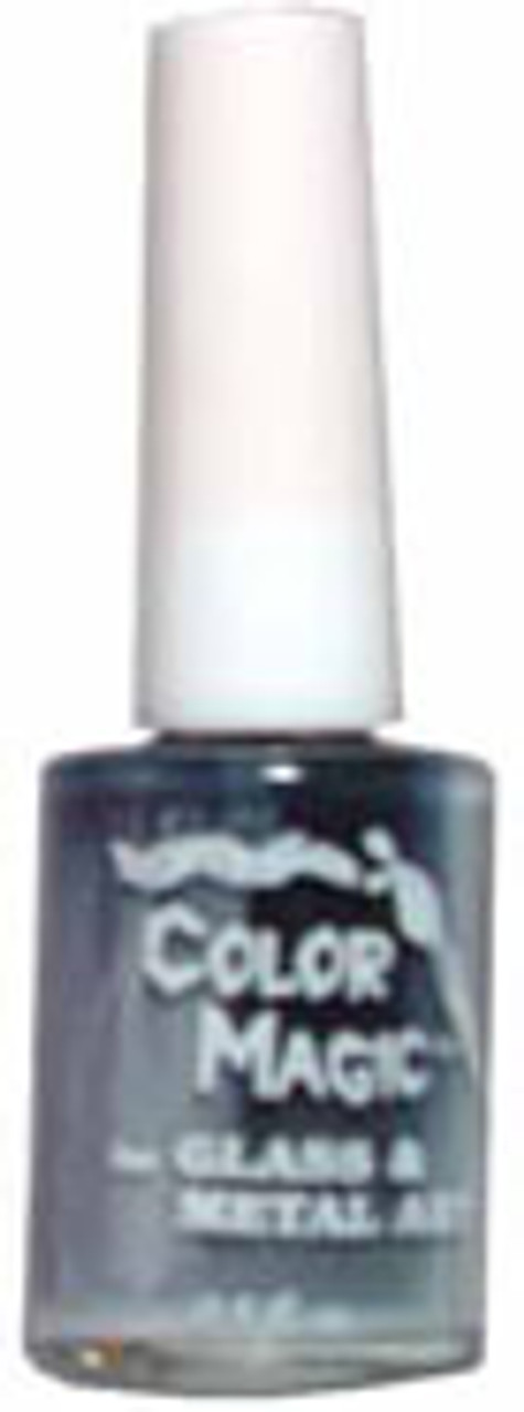 MEDIUM GRAY Opaque Color Magic multi-surface/glass paint
