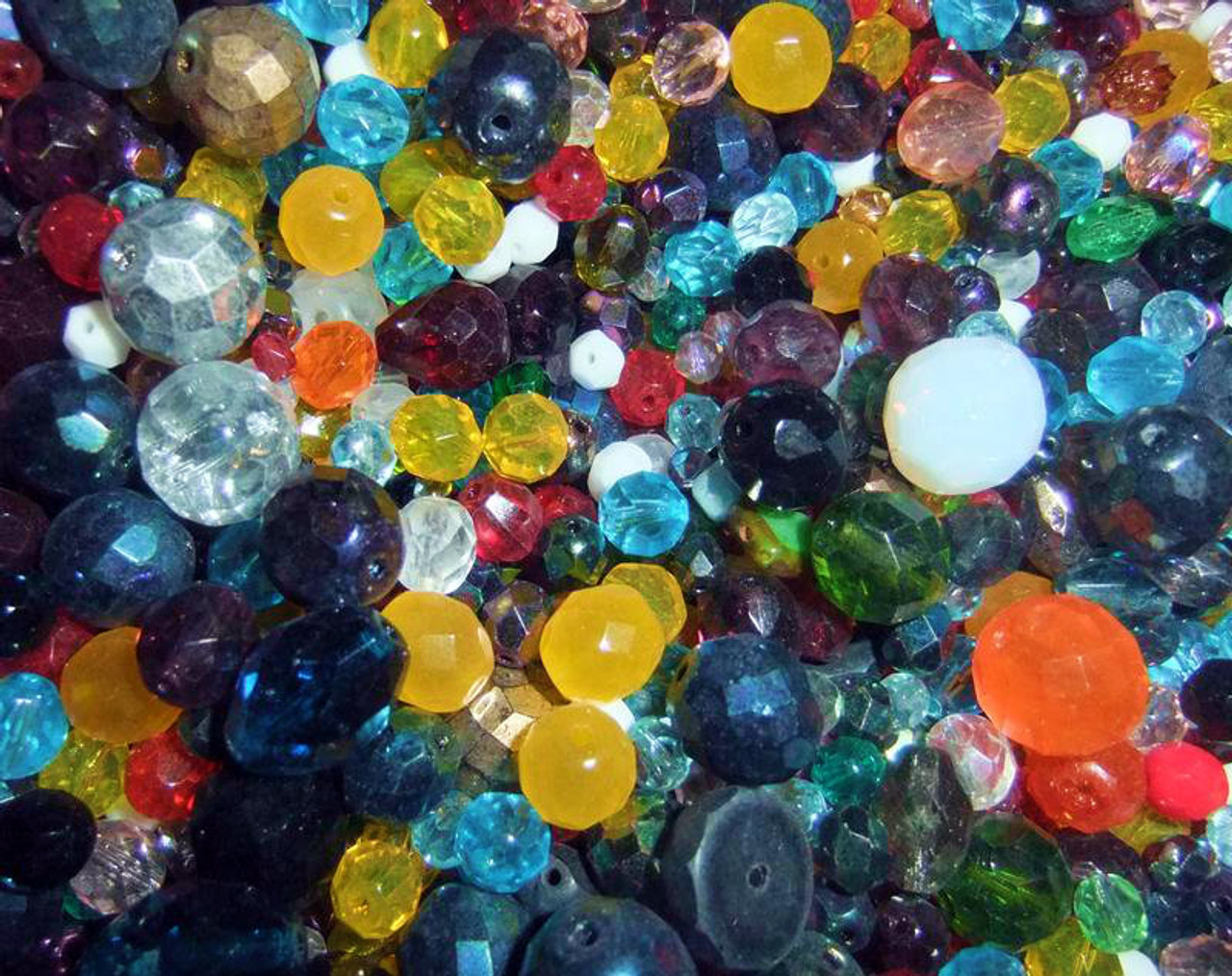 BEAD MIX - 6 oz (Approx 175-225 beads)
